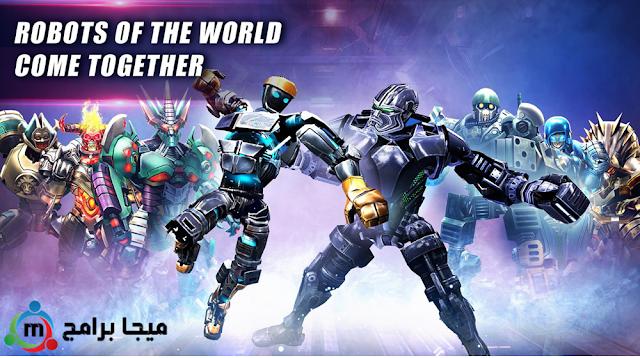 لعبة بطولة الملاكمة العالمية للروبوت الآليين - Real Steel Robot Boxing