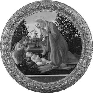 Botticelli, Madonna col Bambino e San Giovanni