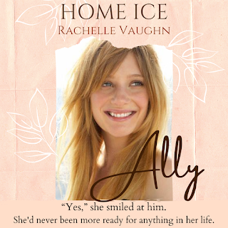 home ice by romance author rachelle vaughn
