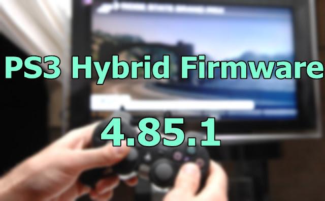 PS3 Hybrid Firmware 4.85.1