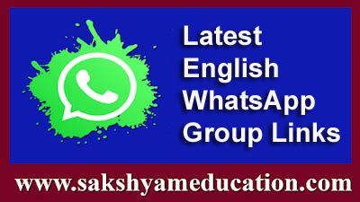 Latest English WhatsApp Group Links | Sakshyam Education