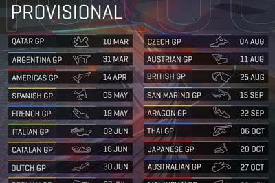 Jadwal MotoGP Tahun 2019