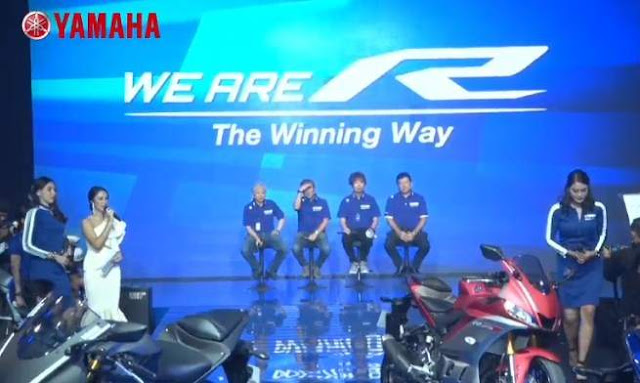 Launching New Yamaha R25 tahun 2018