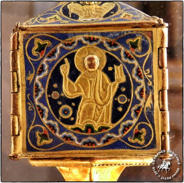 DIJON (21) - Musée d'Art Sacré : Reliquaire (XVe siècle)