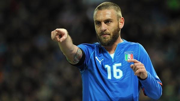 Oficial: Italia, De Rossi asistente técnico de Mancini