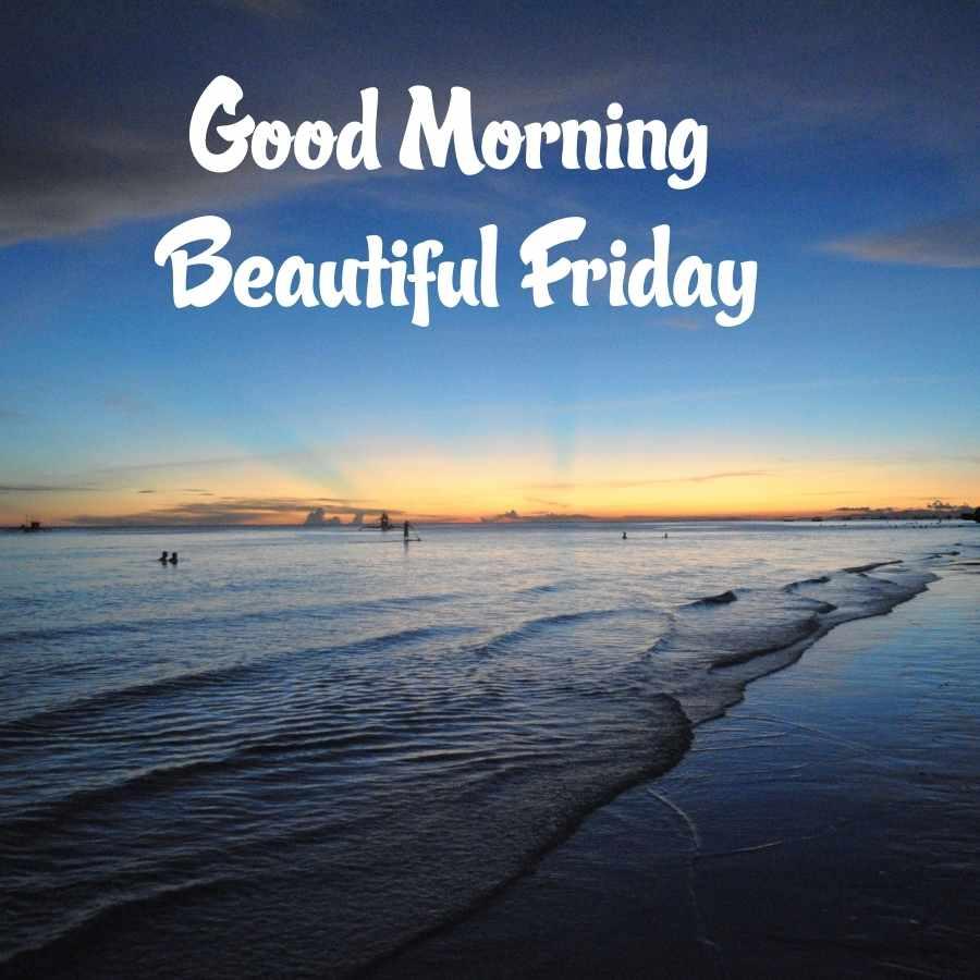 good morning friday message