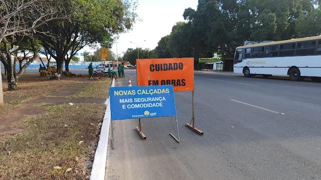 Guará em obras: Administração destina recursos para investimentos em melhorias na cidade