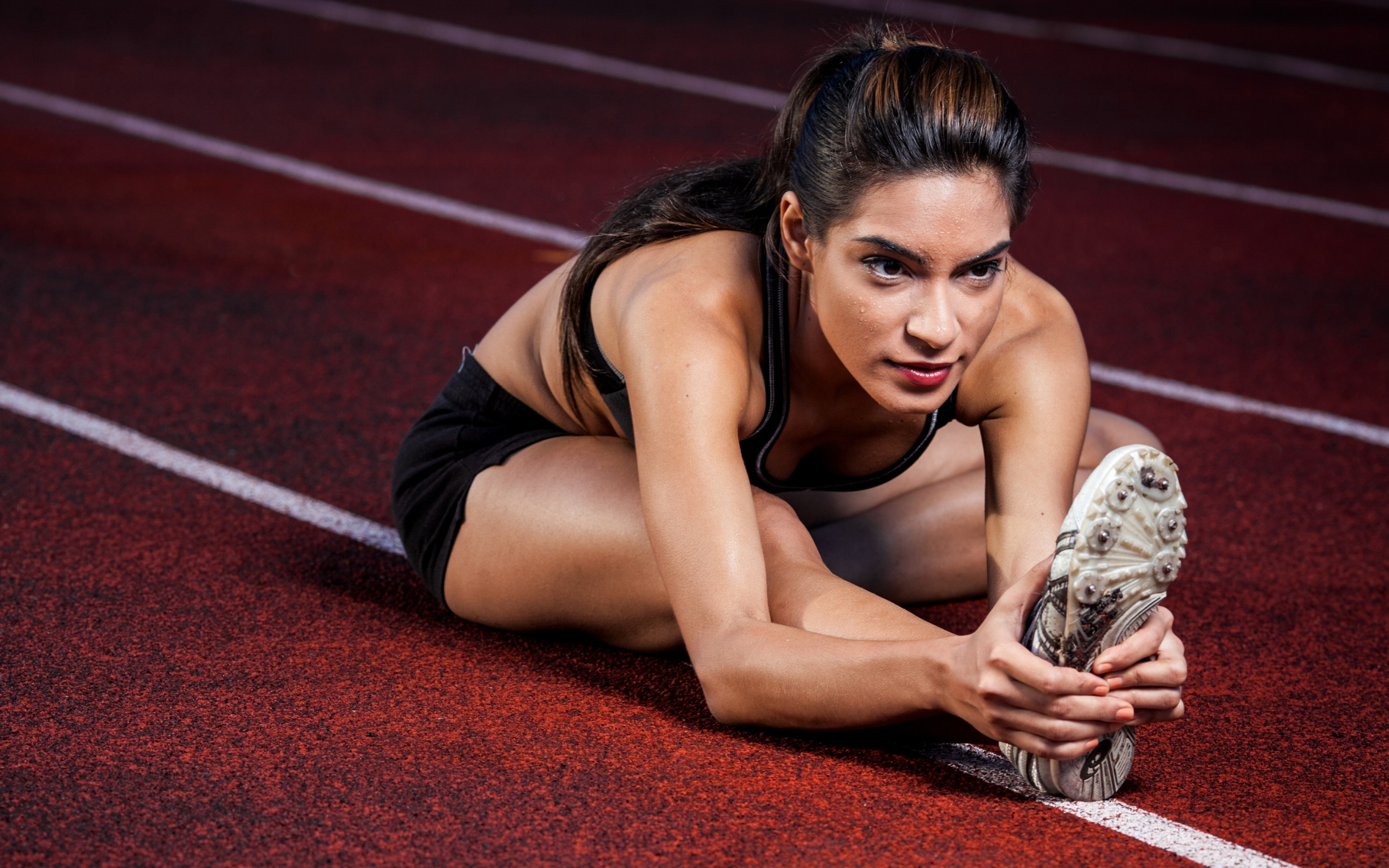 Athlete, Fitness, Stretching, HD, Sports