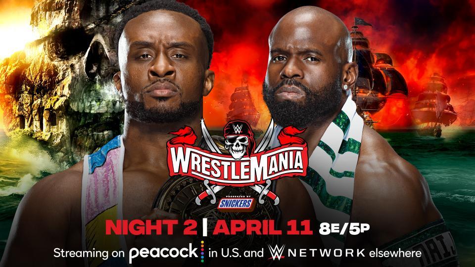 """Estipulação curiosa é adicionada a """"Big E vs. Apollo Crews"""" na WrestleMania 37"""