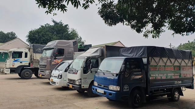 xe tải chở hàng sài gòn - vinh, nghệ an