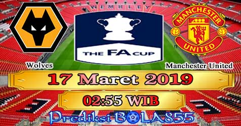Prediksi Bola855 Wolves vs Manchester United 17 Maret 2019