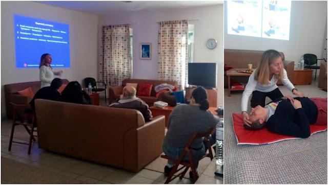 Εκμάθηση Πρώτων Βοηθειών στο Κ.Η.Φ.Η. Ναυπλίου από τον Ερυθρό Σταυρό