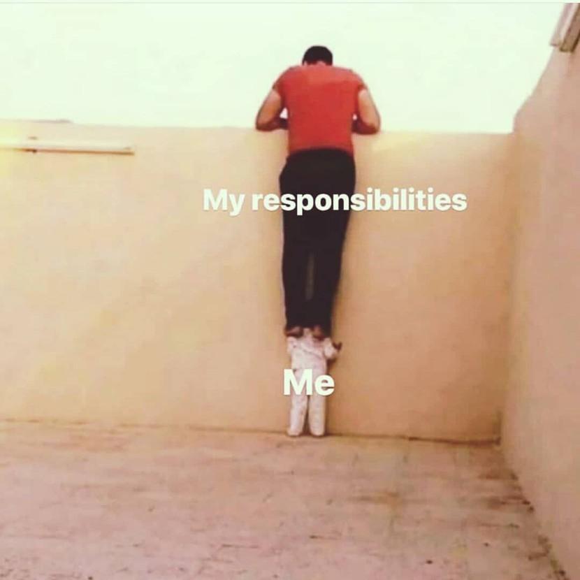Eu e minhas responsabilidades