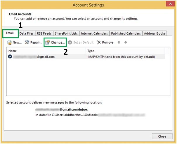 Top Three Ways To Change Passwords In Outlook