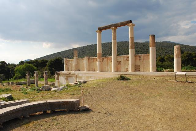 Ιστορίες Ίασης στο ιερό του Ασκληπιού στην Επίδαυρο