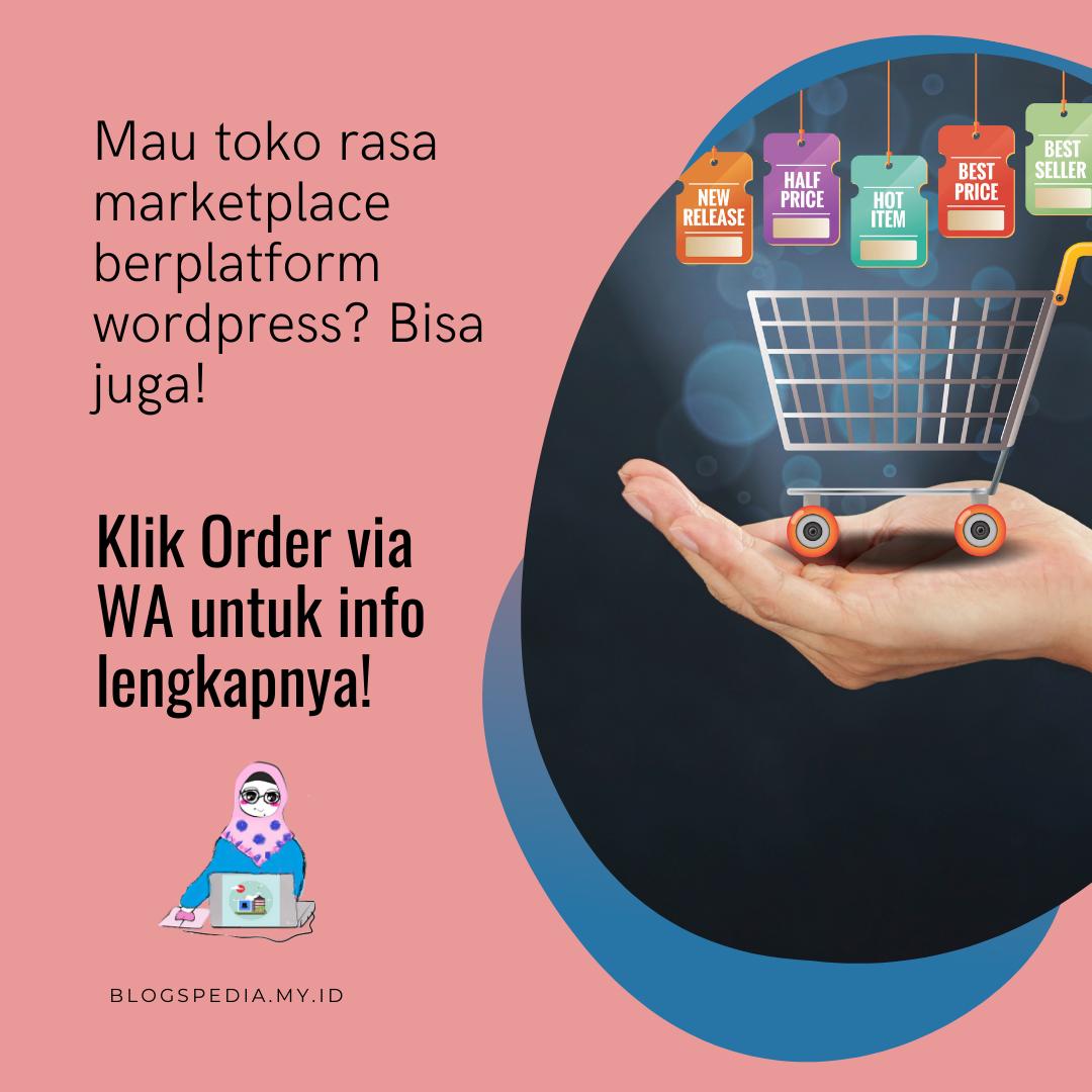 toko online wordpress