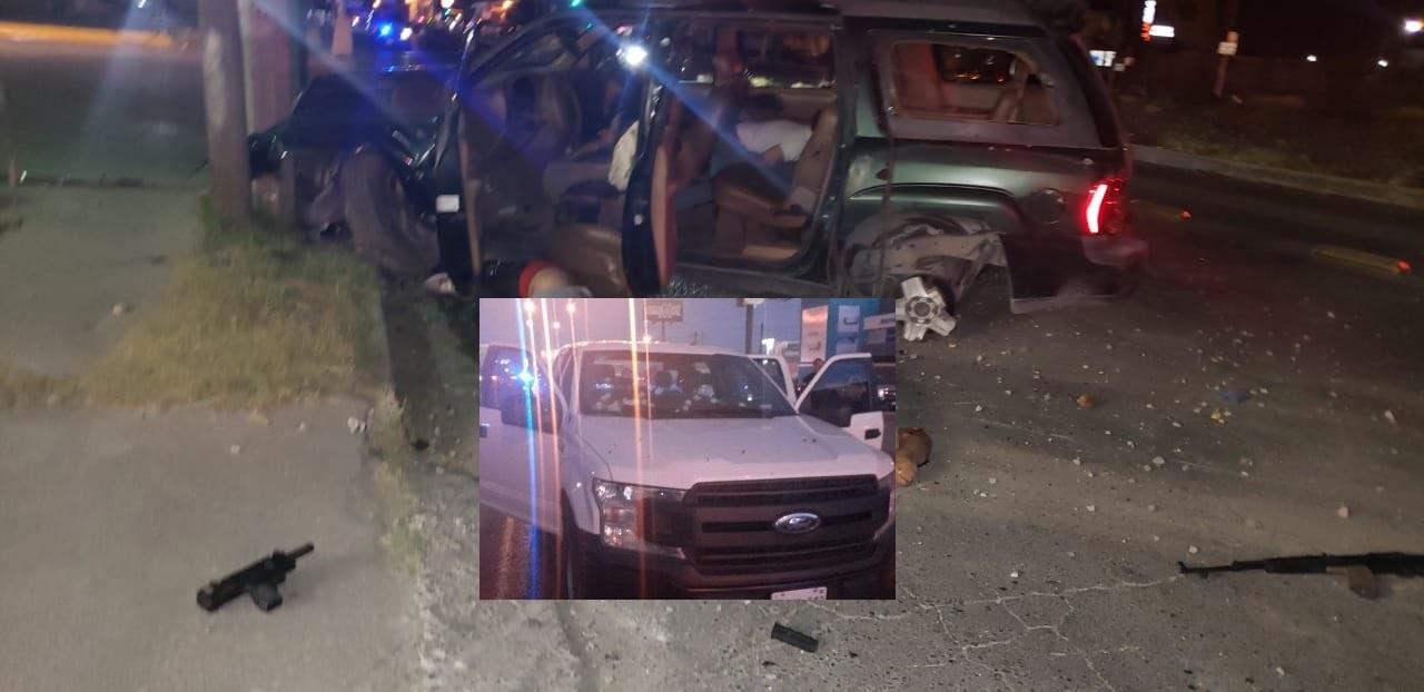 IMÁGENES: Abaten a 4 sicarios tras ataque a Policías en Ciudad Juárez