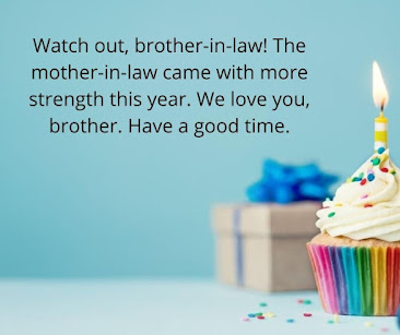 Birthday Wishes for Brother-in-law