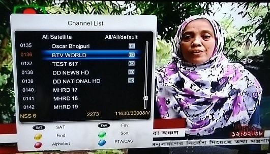 BTV World, Bangladesh state channel now on DD Free Dish