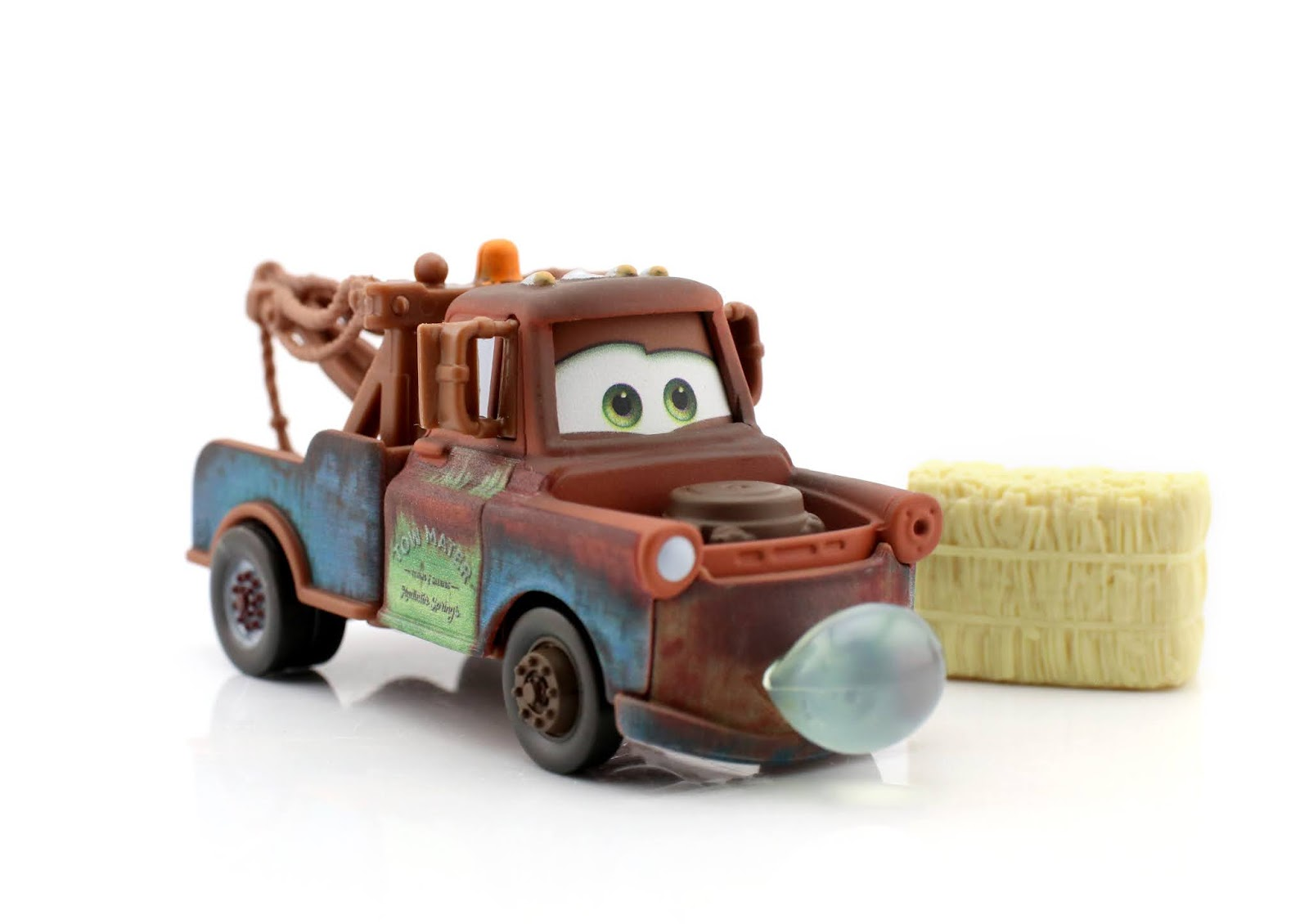 Pixar cars Blowing Bubbles Mater