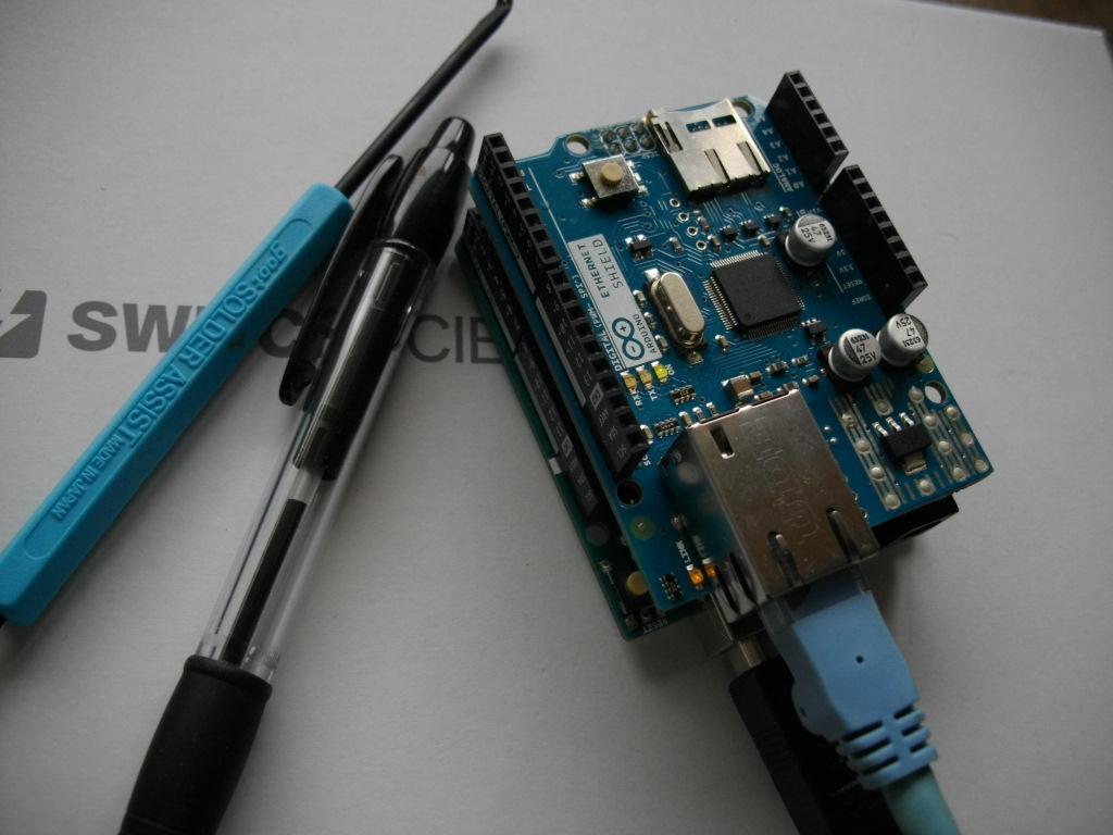 knaka Tech-blog: MQTT 準備編。Arduino EtherNet, paho-MQTT