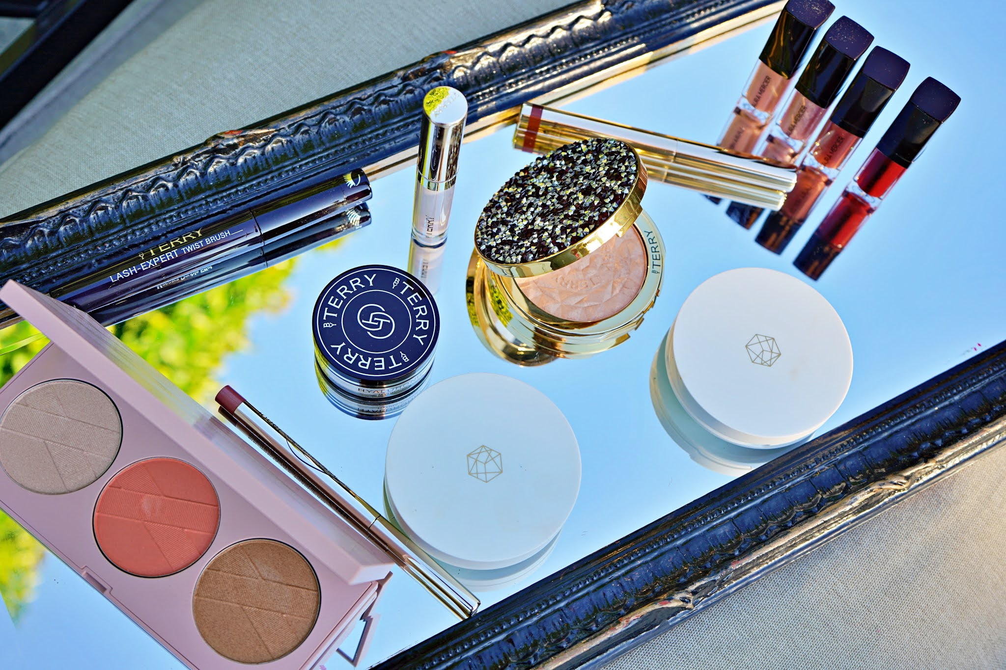 makeup on a mirror for November newness
