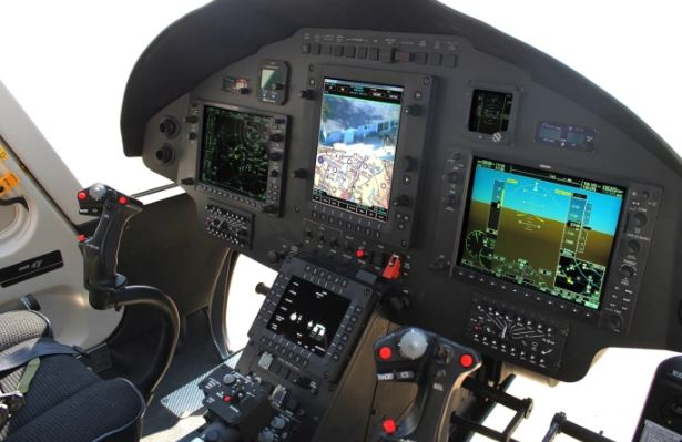 Northstar Aviation NSA 407MRH Cockpit