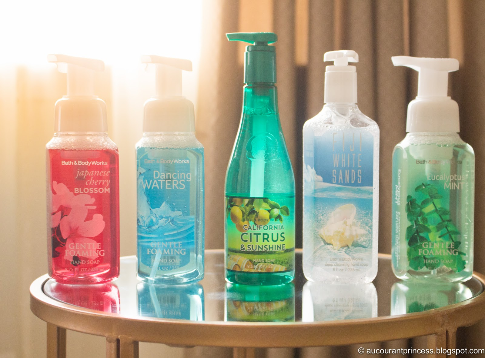 Bath and Body Works Hand Soaps Product Review