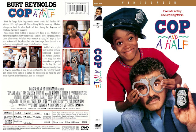 Cop & ½ (Cop And A Half) DVD Cover