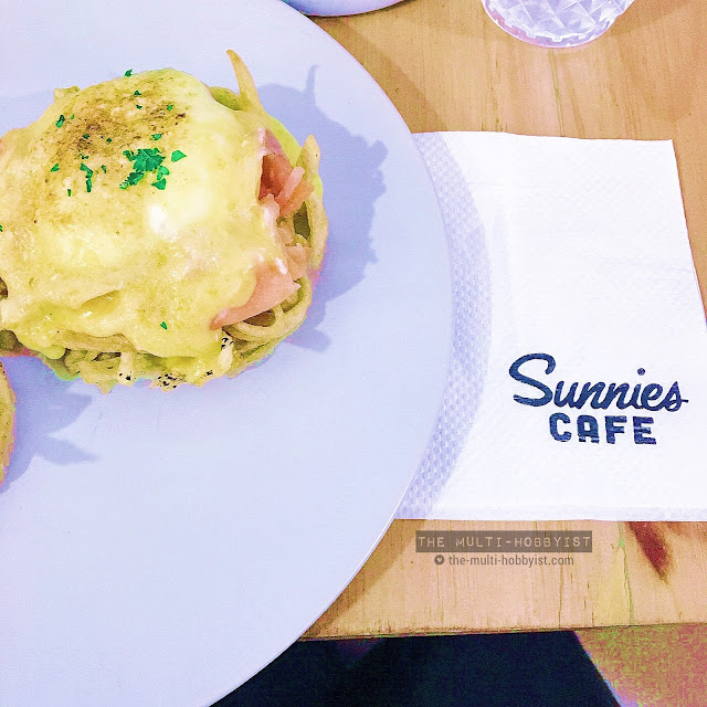 Eggs Benny @ Sunnies Cafe, SM Megamall