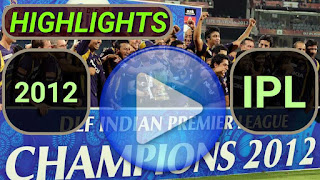 Indian Premier League 2012 Video Highlights
