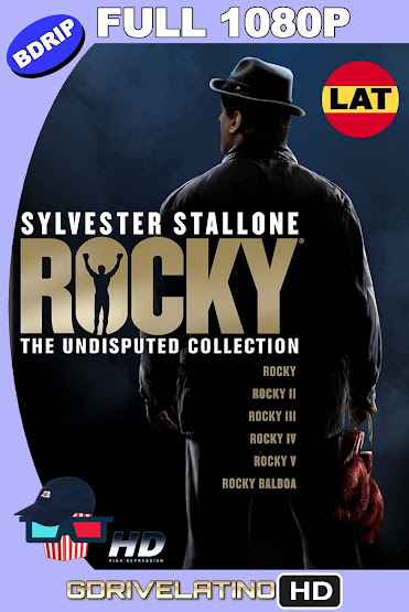 Rocky (1976-2006) Colección BDRip 1080p Latino-Ingles MKV