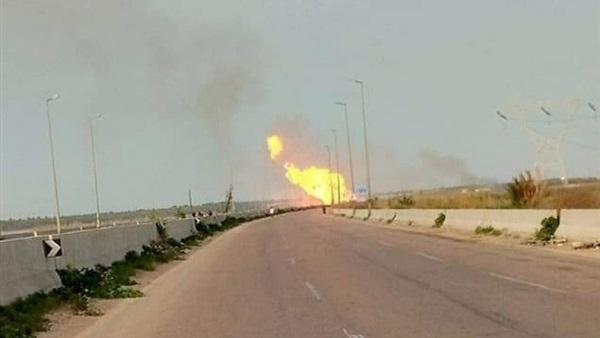 طوارئ بمستشفيات البحيرة بعد انفجار خط غاز بإدكو