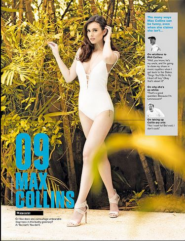 Max Collins FHM Sexiest 2015