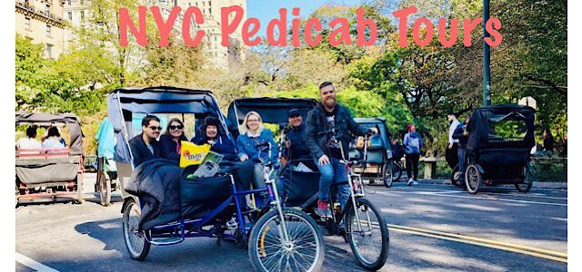 Central Park Pedicab Tours by NYCpedicabs