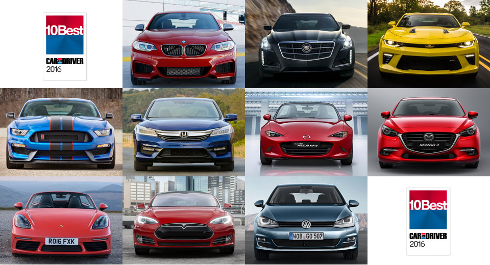 Motor trend names 2016 car truck and suv of the year for Motor trend drivers car of the year