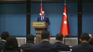 قالن: عودة السوريين إلى بلادهم ستكون بشكل آمن وطوعي