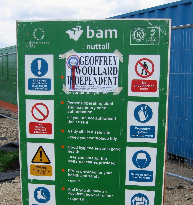 Construction Site Boards: Sandra Barr: Toxic O2 Dome