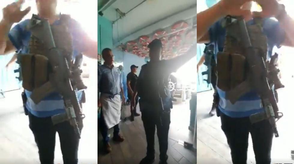 """""""Nadamas para avisarles la cosa esta bien seria"""", Sicario del CDS avisó y pidió a pobladores que se refugiaran y no salieran"""