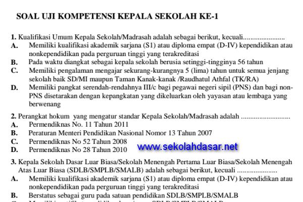 Contoh Soal Uji Kompetensi Jabatan Struktural Eselon Iv Ilmu Pengetahuan 8