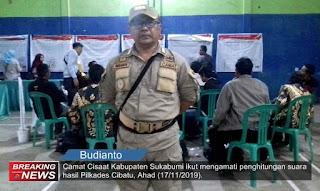 Camat Cisaat, Budianto