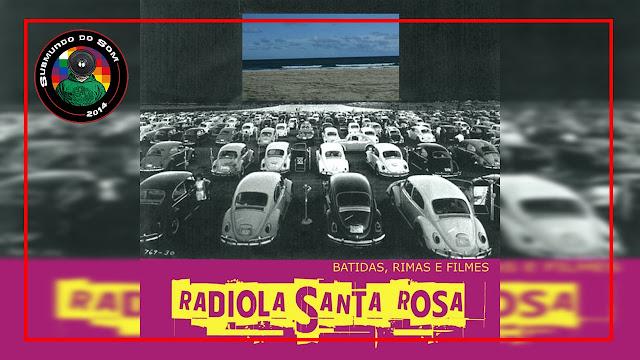 Batidas, Rimas e Filmes com curadoria Radiola Santa Rosa