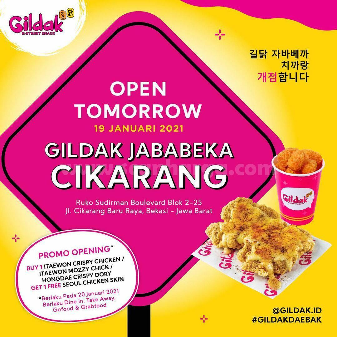 GILDAK Jababeka Cikarang Grand Opening Promo – Beli 1 GRATIS 1