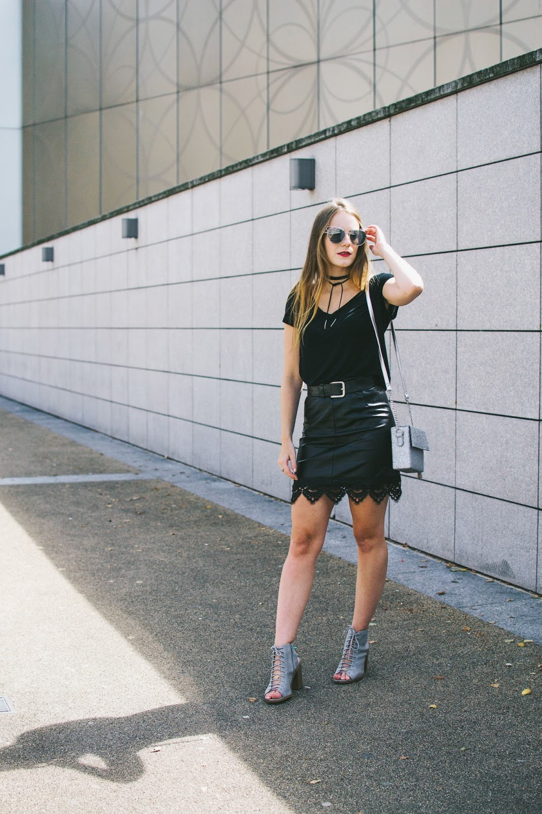 black leather skirt, leather pencil skirt, leather skirt, perfect leather skirt, leather skirt outfit