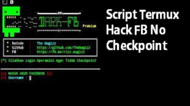 Script Termux Hack FB No Checkpoint