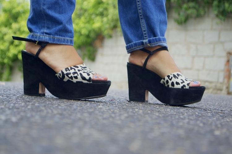 sandalias leopardo zara