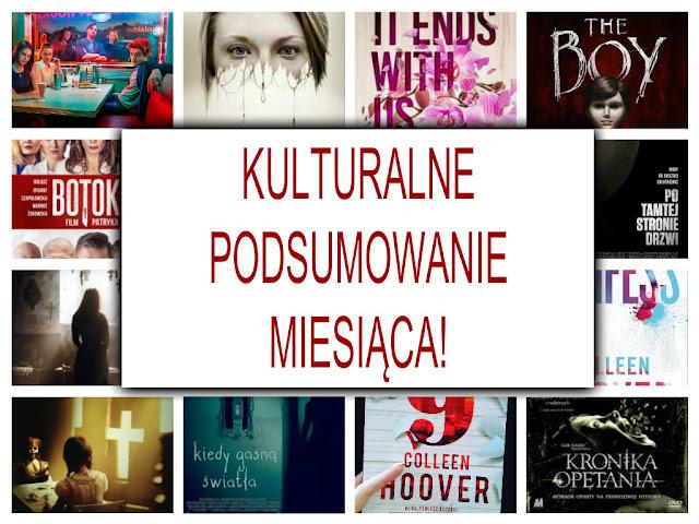 Hity i kity miesiąca sierpień, wrzesień, październik-książka, seriale, filmy i muzyka :)