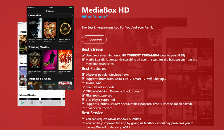 MediaBox HD Apk: Best Android App For Entertainment