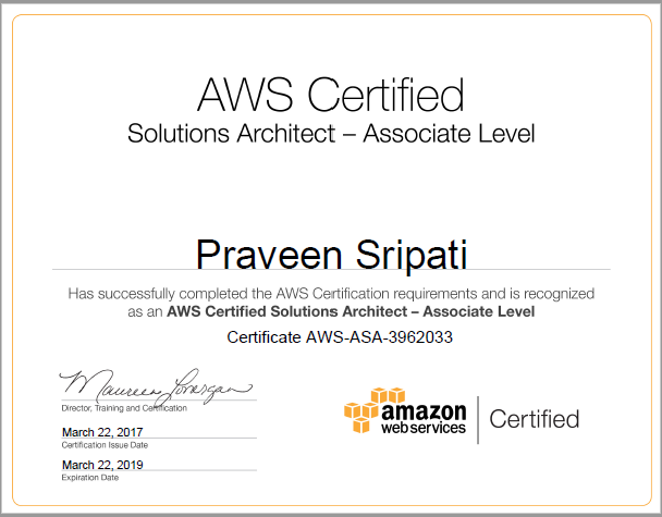 aws cloud solution architect
