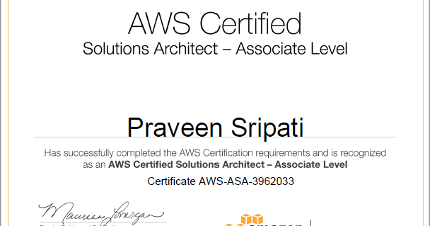 Big Data and Cloud Tips: Got through `AWS Certified